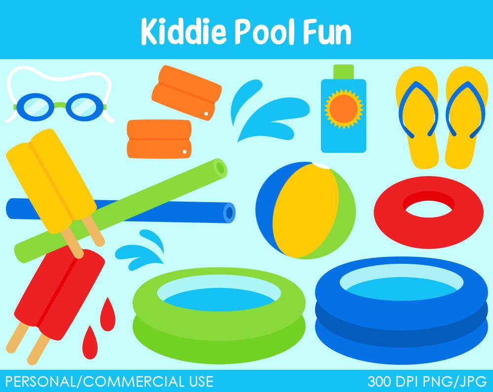Kids Pool Clip Art Kiddie pool fun clipartKids Pool Clip Art