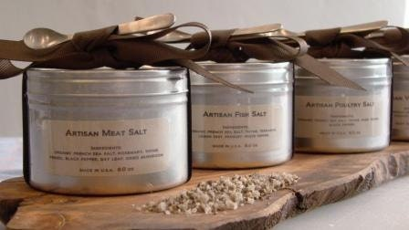 ARTISAN FRENCH SALTS - Set of 4, by Tresor Cuisine - TresorCuisine