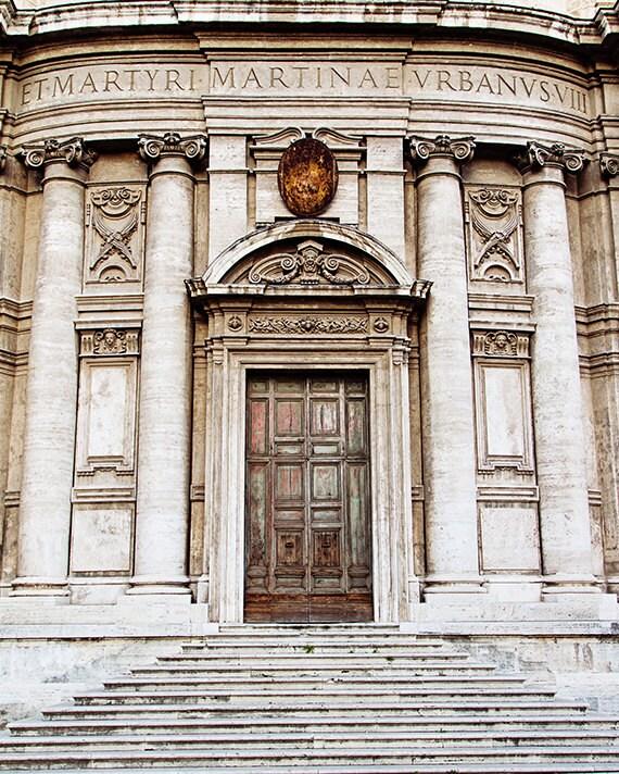 Rome Travel Photography, Italy Home Decor, Roma Fine Art Photograph, Roman Holiday, Rome Italy, Doors - Roman Doors (8x10) - MelanieAlexandra
