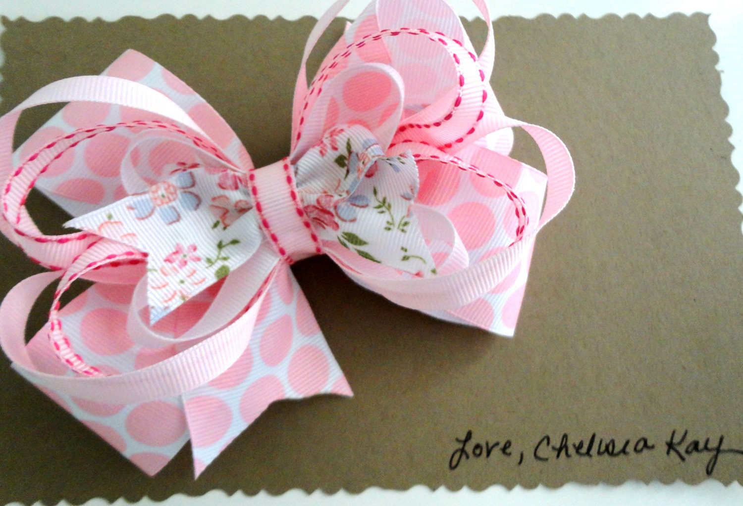 The Abigail Layered Boutique Bow