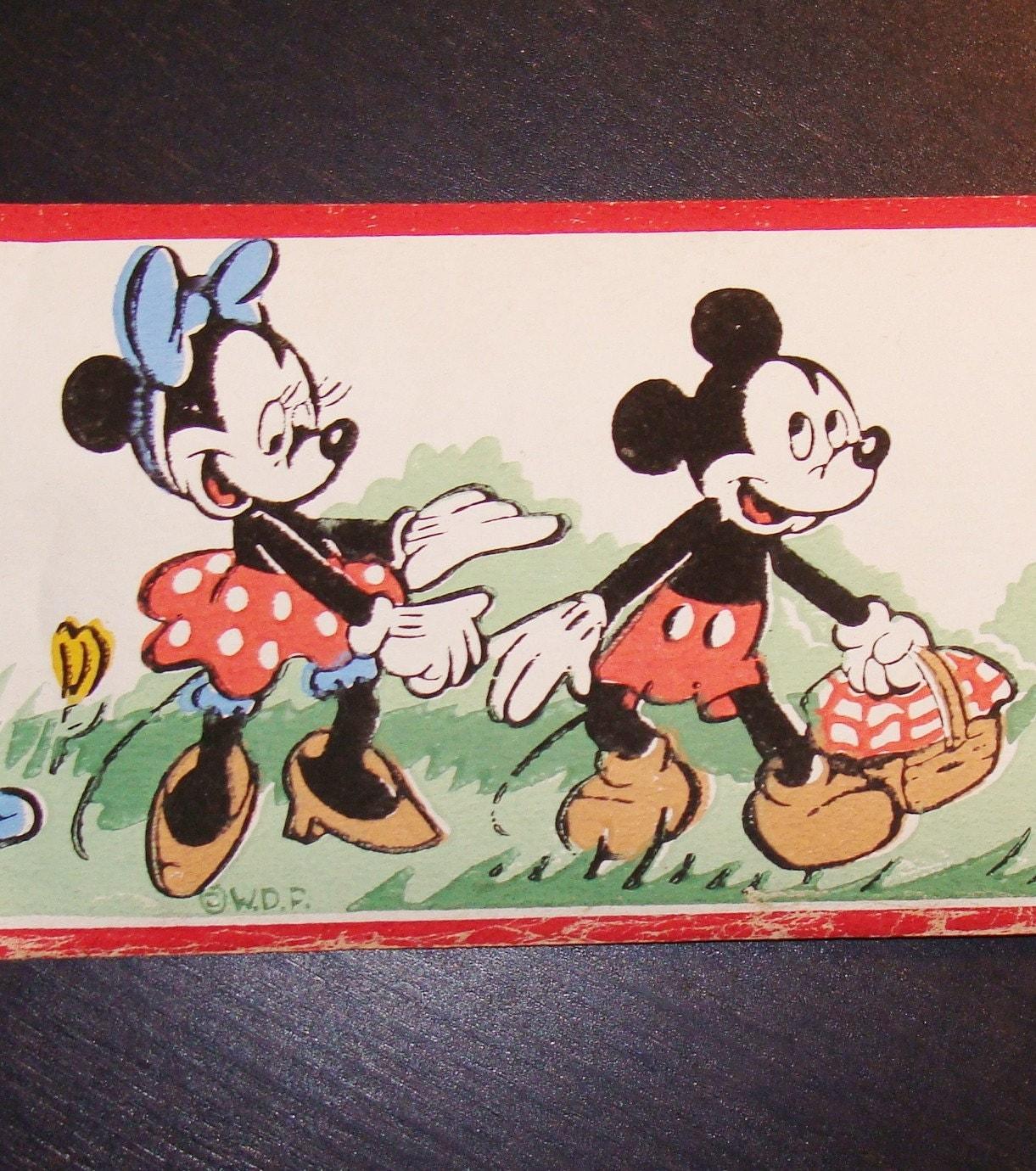 minnie mouse vintage wallpaper wwwimgkidcom the