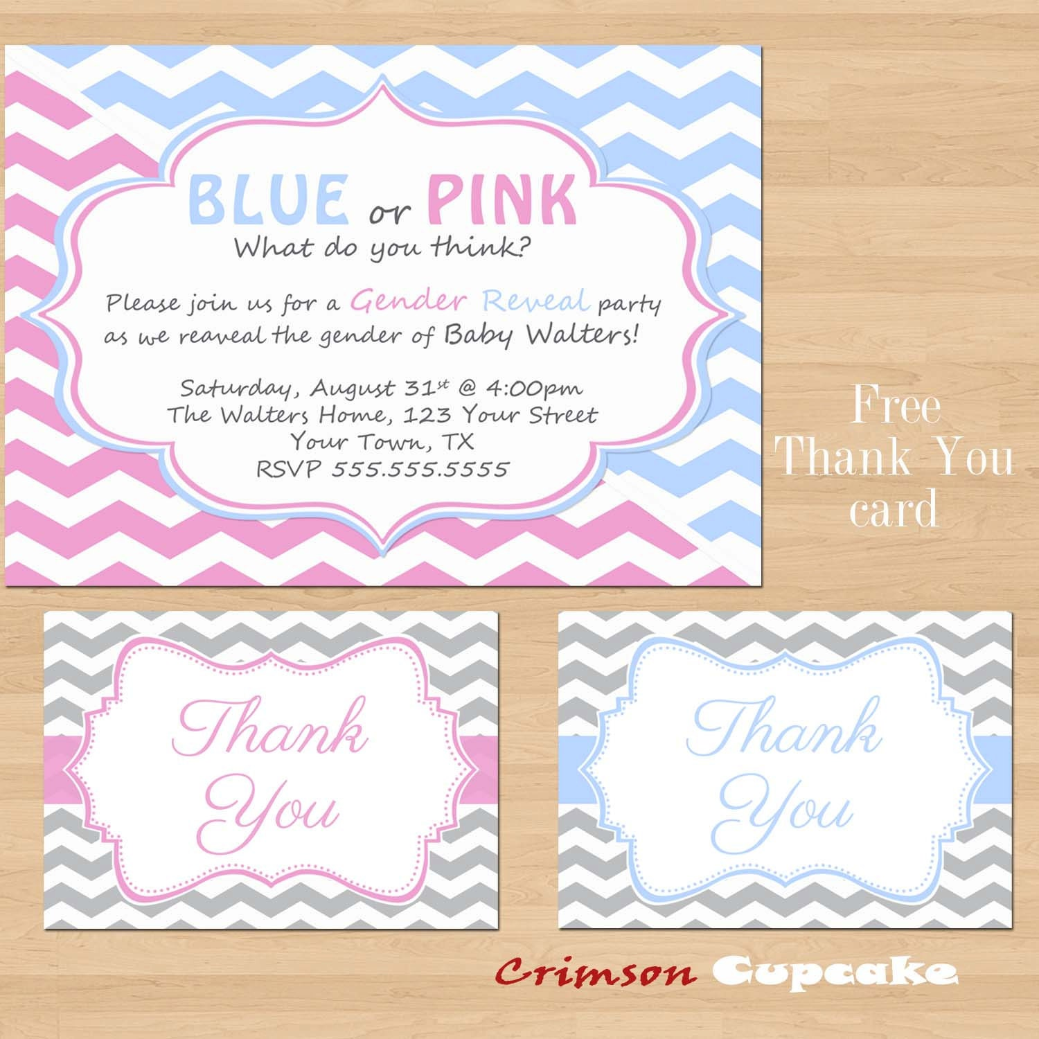 Free Printable Gender Reveal Party Invitations is one of our best ideas you might choose for invitation design