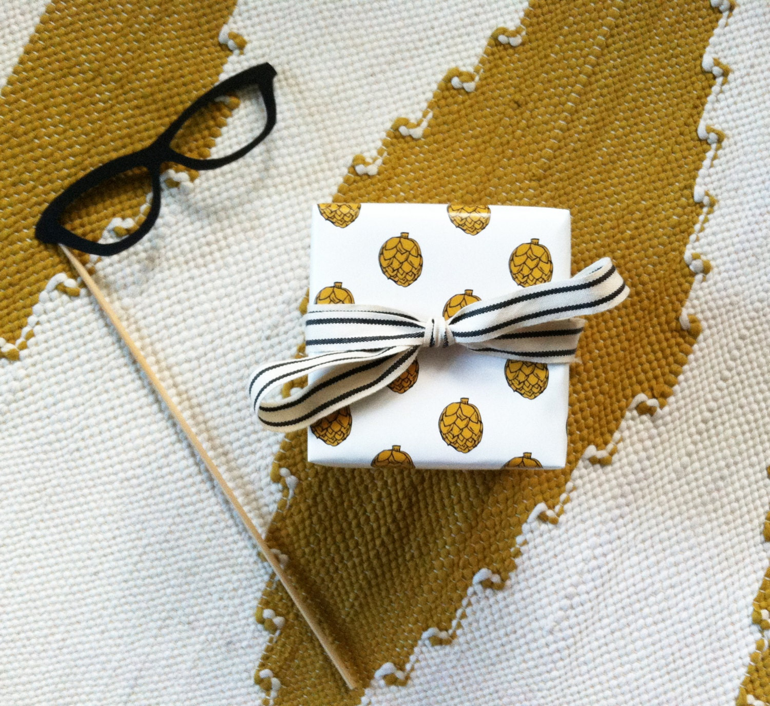 "Gift Wrap // Artichoke my Heart // Foodie Wrapping Paper // Each Roll is 26""X36"""