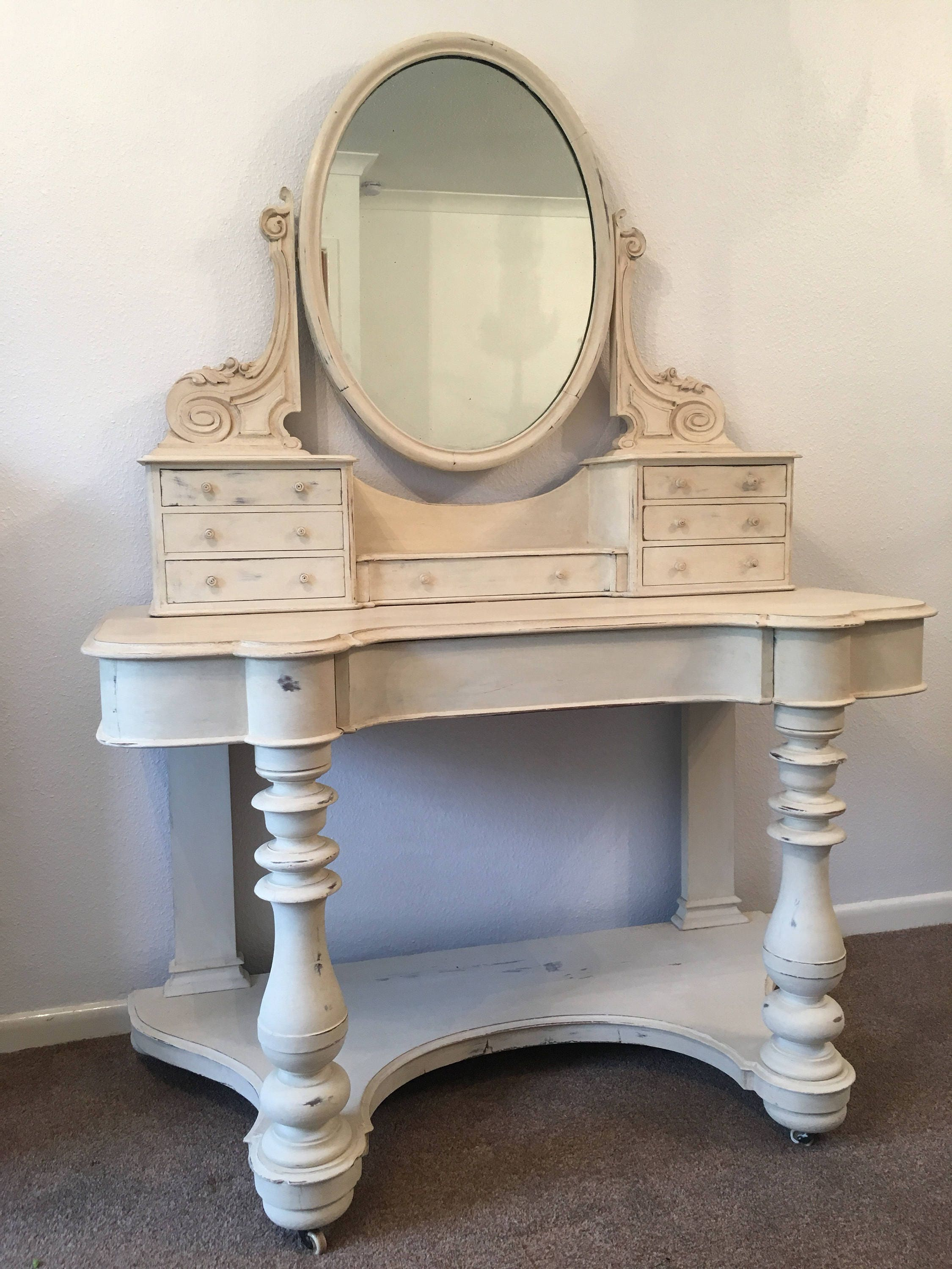Stunning Mid 1800s Napoleonic Style Dressing Table FREE DELIVERY