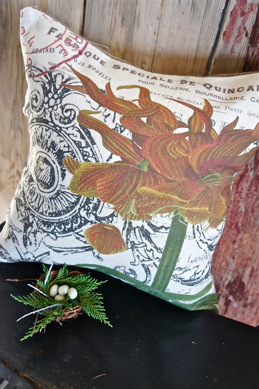 Ручной рукопечатных Чехол-12x22 - Потрясающие цветок - Fritillaria
