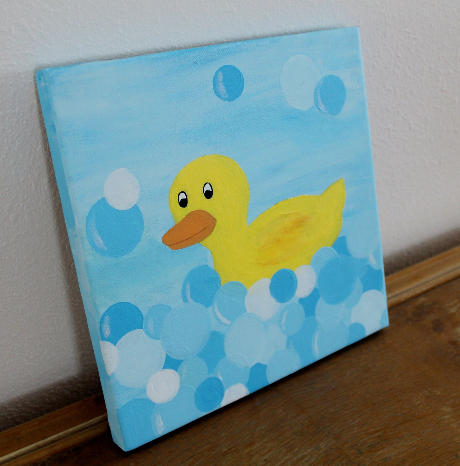Unavailable listing on etsy for Rubber ducky bathroom ideas