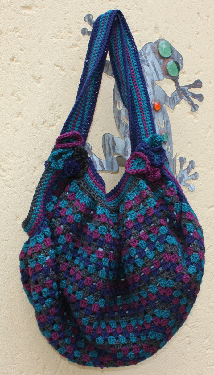 Crochet Diaper Bag : Womens tote bag Oversized bag Large Crocheted by KennaInAfrica