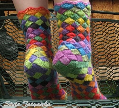 Вязание. вязание спицами модели.  Носочки детские спицами - вяжем онлайн школа вязания.