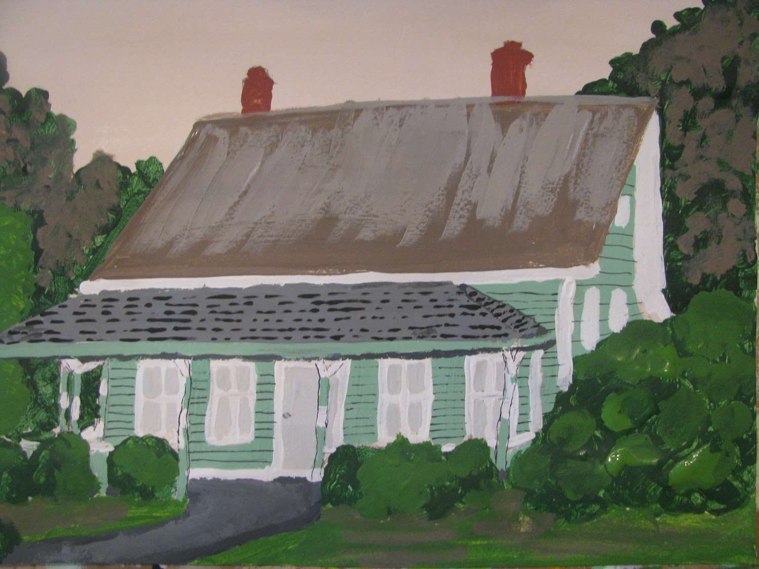 House on Escambia Street print