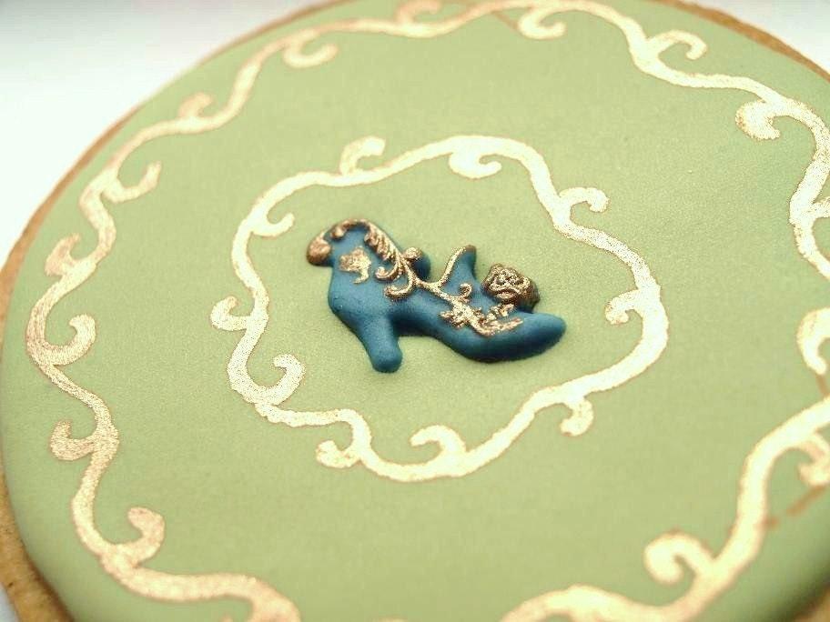 Antique Shoe Cookies - Set of 6