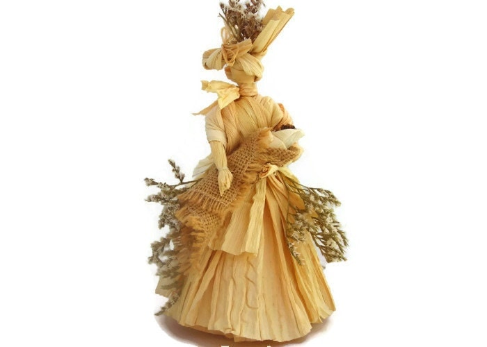 A Mother's Love Corn Husk Doll - VermontDolls