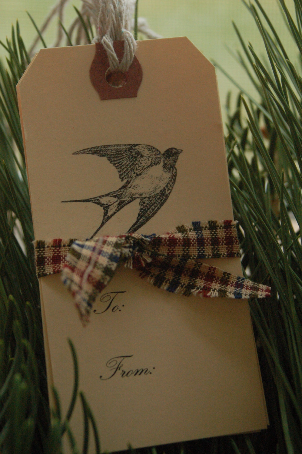 Sweet Little Bird Gift Tags