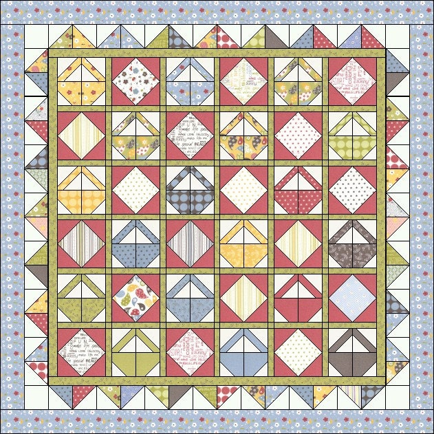 Intermediate Quilting Patterns : Etsy - Your place to buy and sell all things handmade, vintage, and supplies