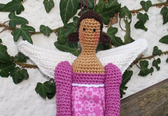 Angry Birds Amigurumi Patterns : Amigurumi ANGEL crochet pattern by CAROcreated on Etsy