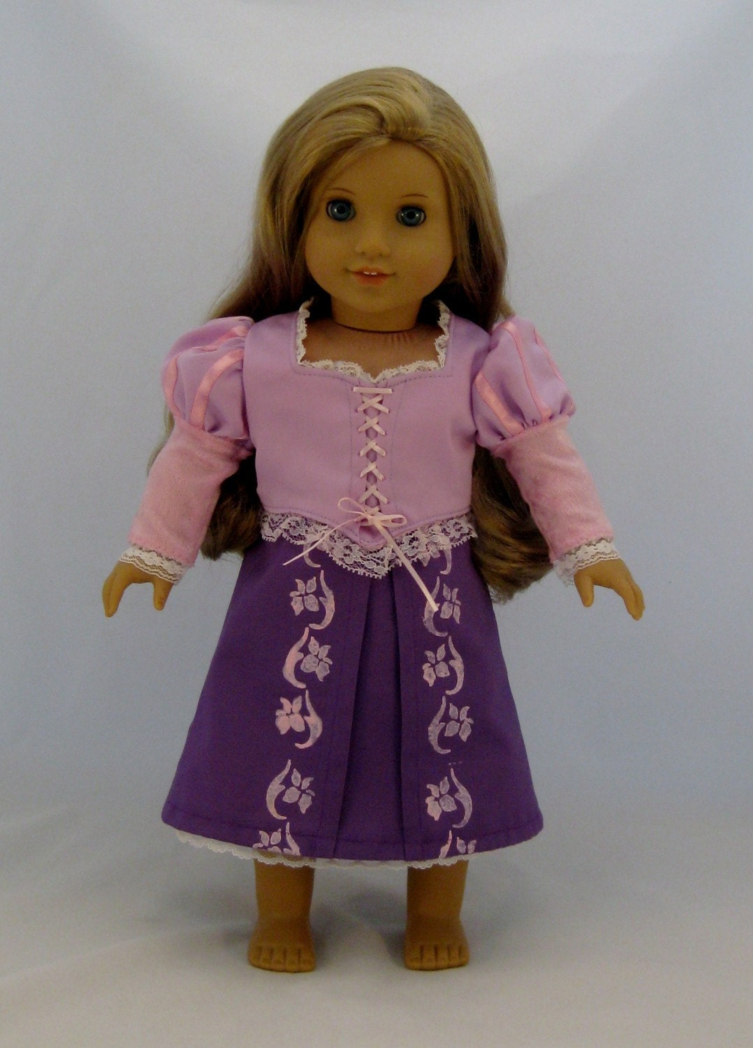American Girl Sized Tangled  Rapunzel Costume