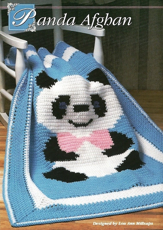 Free Crochet Panda Afghan Patterns : Unavailable Listing on Etsy