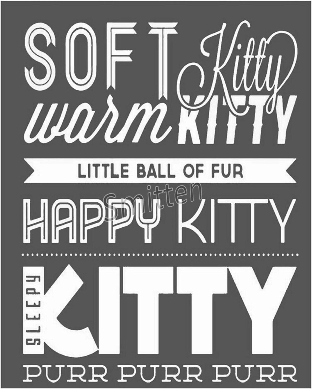 Soft Kitty + Lyrics - YouTube