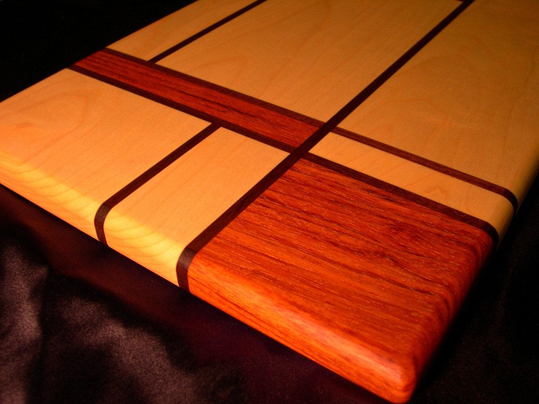 Modern Wood Cutting Board By DPcustoms On Etsy