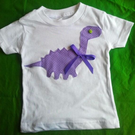 Toddler Dinosaur T-shirt - Baby Dinosaur T-shirt - Baby Tshirt - Dinosaur Tshirt - Girls Tshirt - Toddler Tshirt - Dino Tee - Dino - TwiceAsNiceBaby