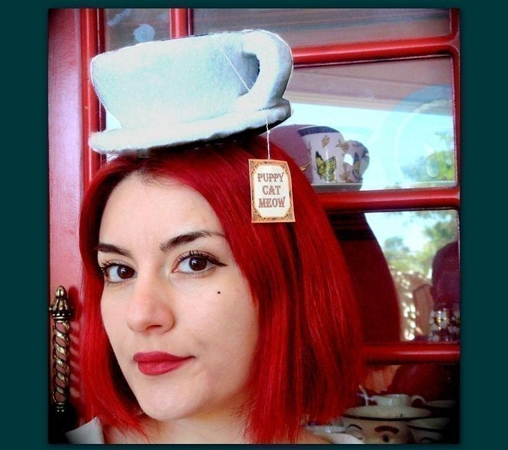 hats for alice in wonderland tea party