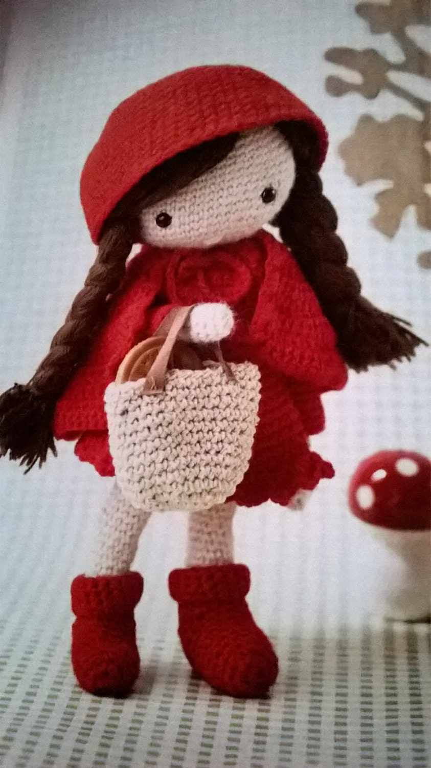 Crochet outfits for Cheyenne rag doll toy gift