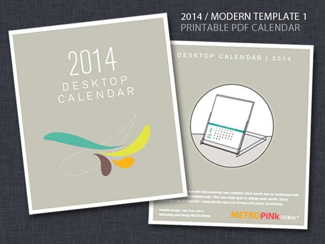 Diy Calendar Cd Case : Printable cd case calendar template by metropink