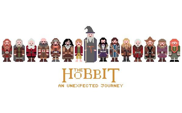 hobbit pixels