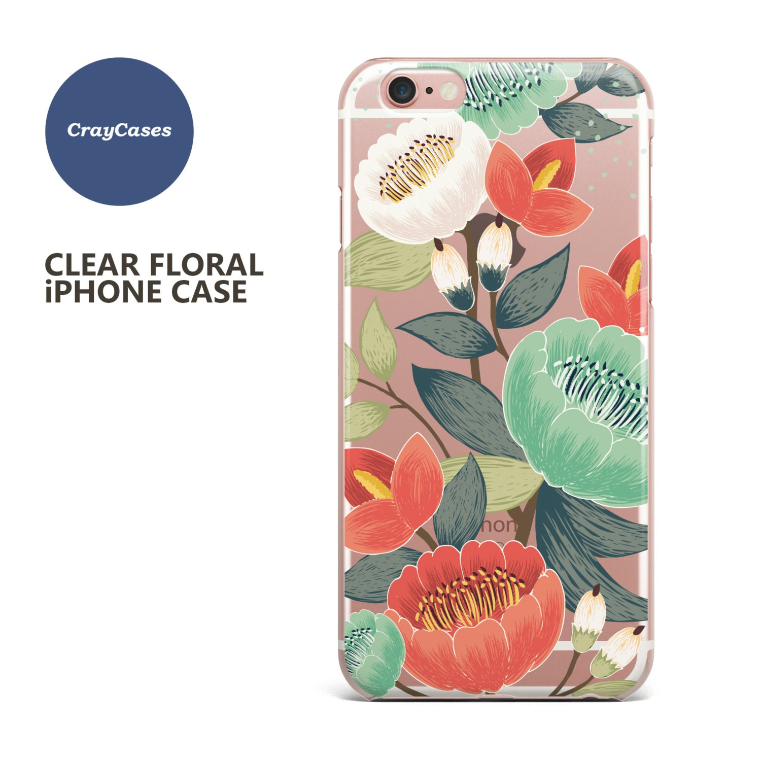 iPhone 6 Case iPhone 7 Case Floral iPhone 6s Case Floral iPhone 6s Plus Case Floral iPhone 6 Case Floral iPhone 6 Case Ships From UK