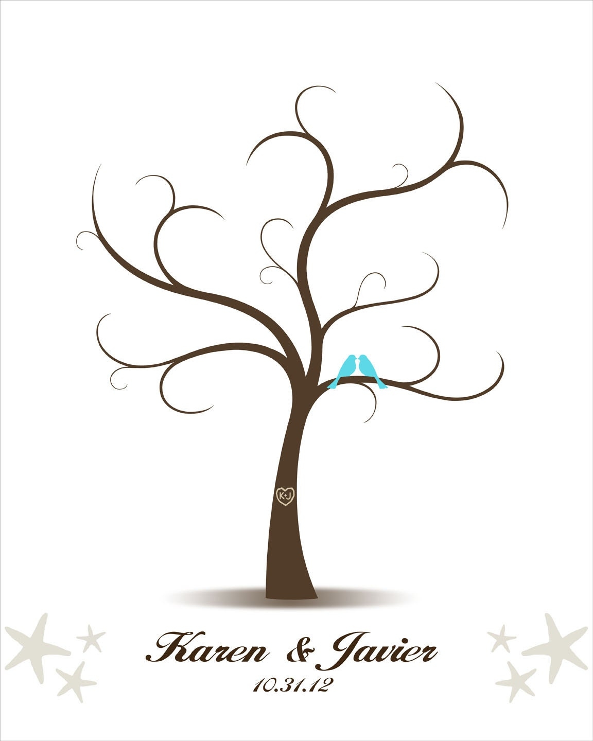 pin fingerprint tree template baby shower on pinterest