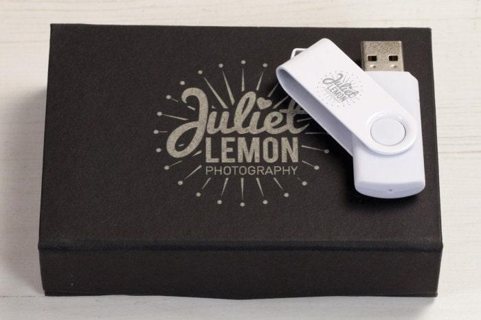 Personalised Twister Mono  Black Flip Box Bundle (USB3.0)