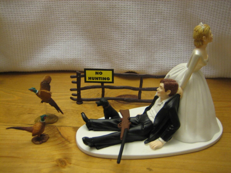 Pheasant Hunting Wedding Cake Topper Groom S Cake By