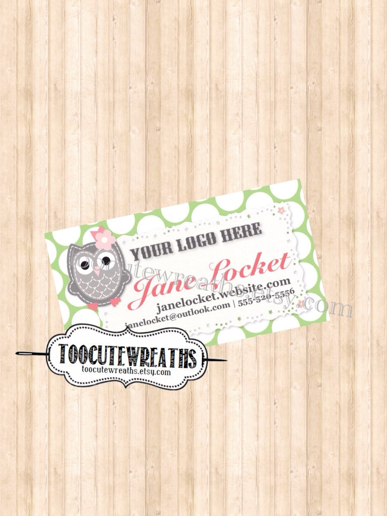 Origami Owl Business Cards