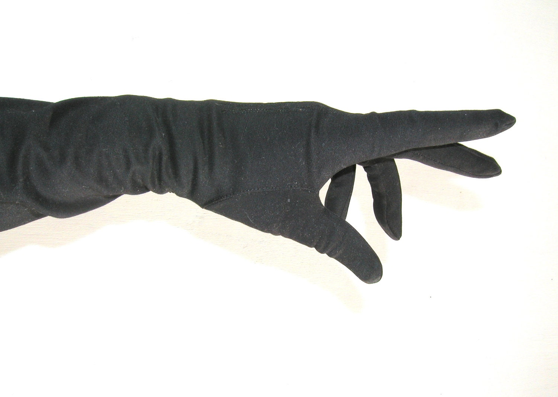 Pair of Black Gloves - MarysVintageLoved