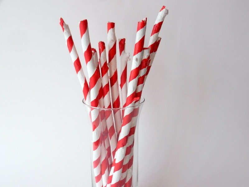 items similar to peppermint sticks painted branches in. Black Bedroom Furniture Sets. Home Design Ideas