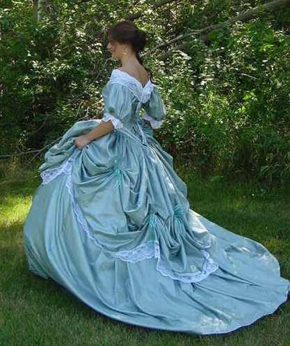 Making My Victorian Wedding Dress Part 1: CUSTOM Victorian Bridal Civil War Steampunk Ball By