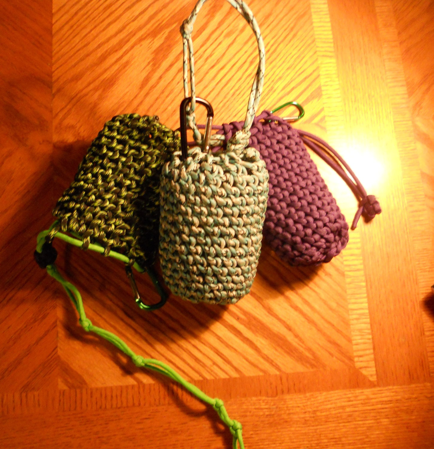 550 paracord drawstring pouch bag handmade to order by for Paracord drawstring bag