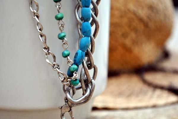 Chunky Chain bracelet - stylinstuff