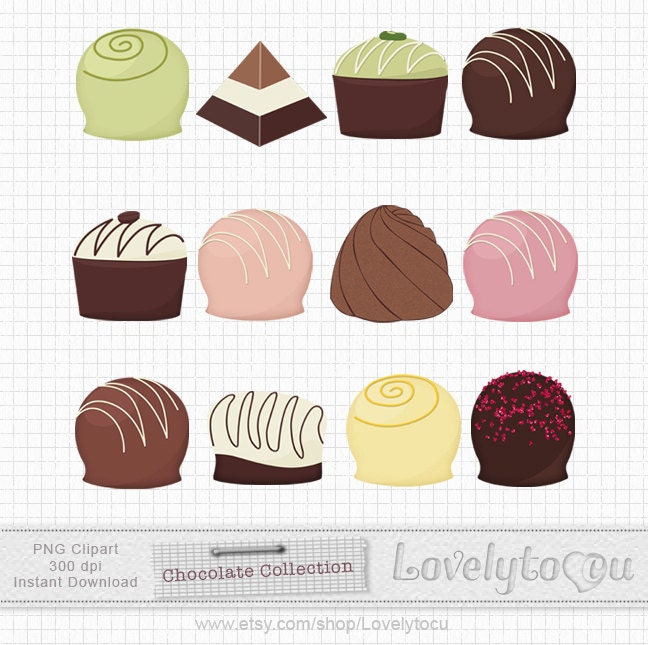 Watch more like Chocolate Truffle Clip Art