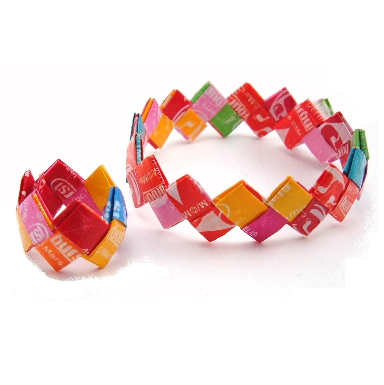 starburst bracelet with free ring by candycalamity on etsy