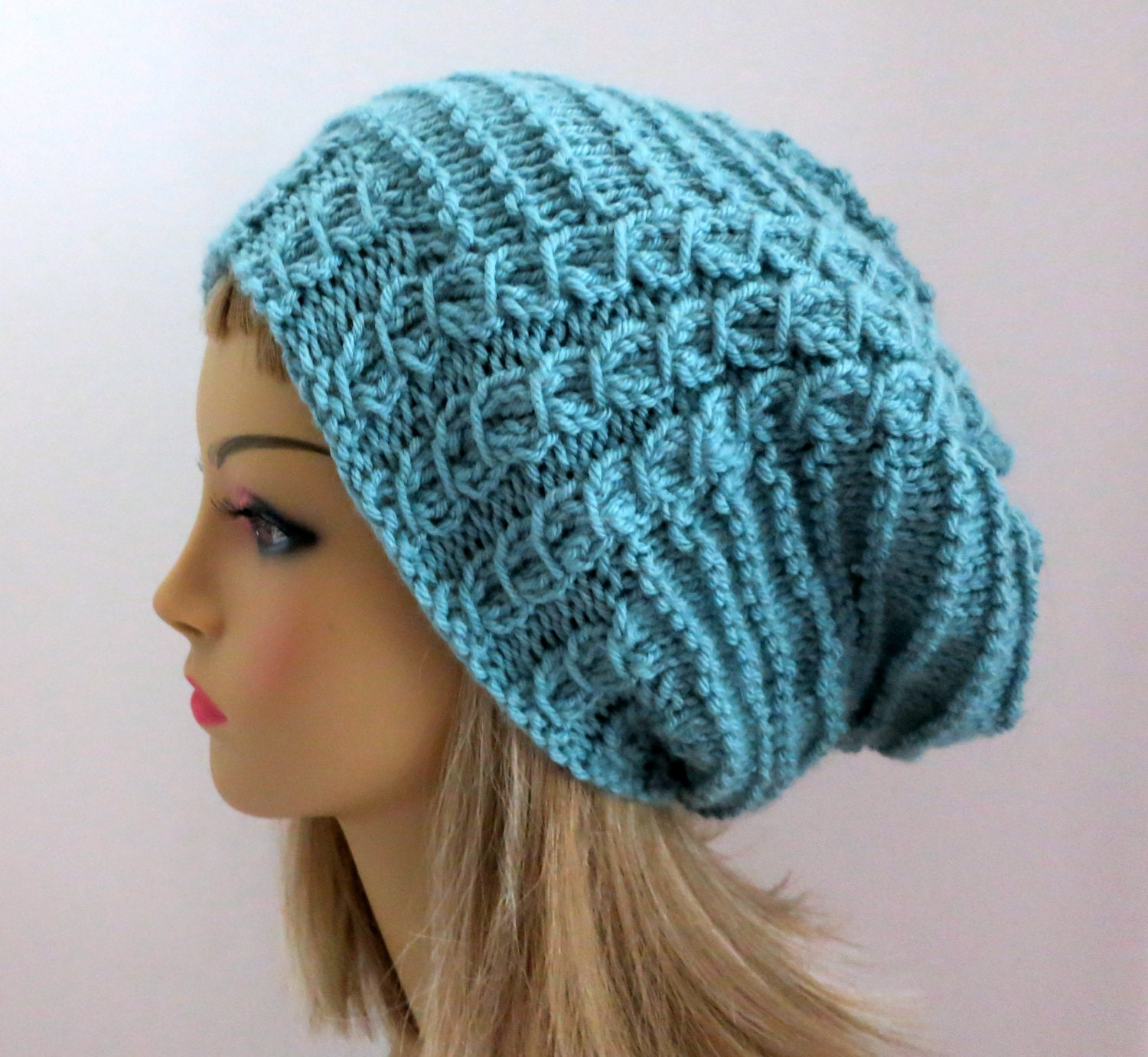 Knit Slouchy Beanie Pattern : 301 Moved Permanently