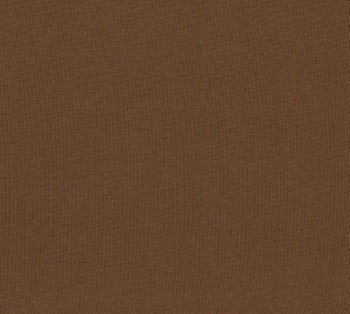 Cotton Fabric: Chocolate Bella Solid from Moda - 1 YD - FabricFascination