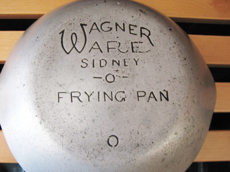 Wagner Ware Sidney 0 Aluminum Frying Pan by PeddleCreek on Etsy