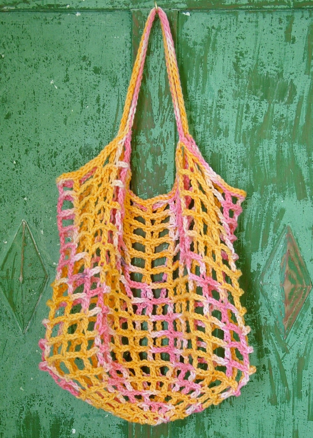 Crochet String Bag: pattern for eco-friendly shopping bag