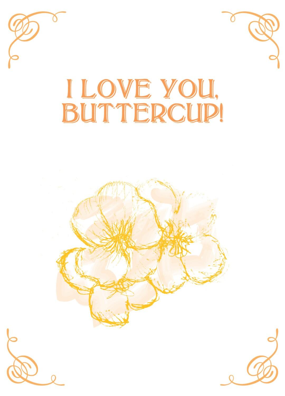 Buttercup Valentine - LEHullfish