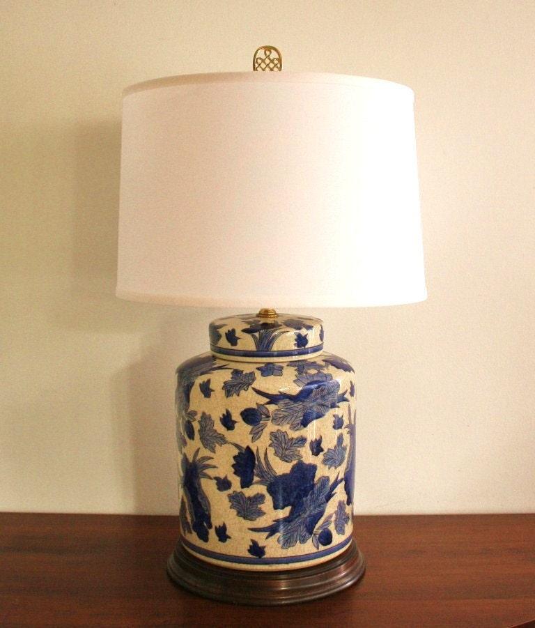 vintage blue and white ceramic ginger jar by highstreetmarket. Black Bedroom Furniture Sets. Home Design Ideas