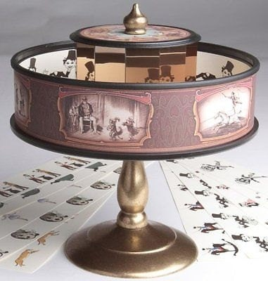 Praxinoscope Animation Classic Vintage Optical Illusion Toy  Zoetrope Similar
