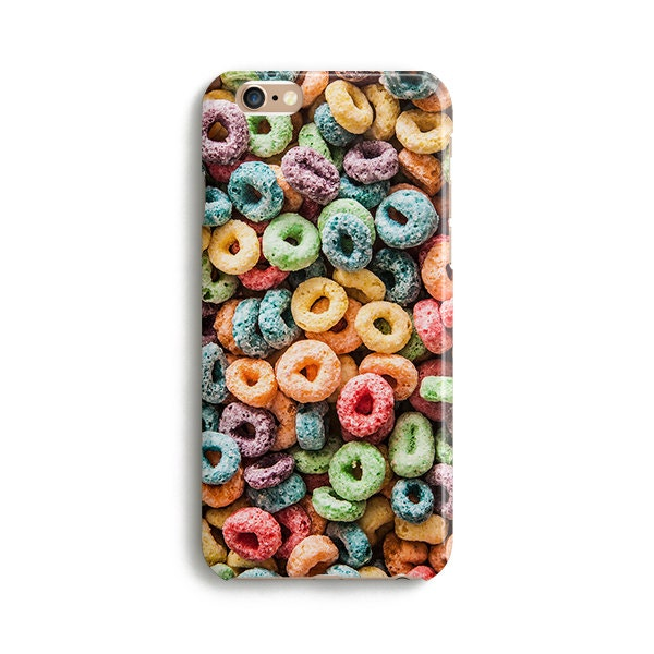 Loops cereal  iPhone 7 case Samsung galaxy S7 case iPhone 6 iphone 7 plus samsung galaxy S6 iphone SE 1P166A