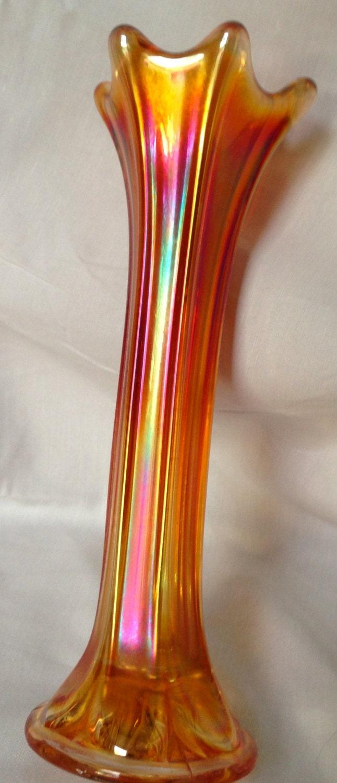 Vintage Bubble Glass Vase For Salebubble Glass Vase Pair Vintage