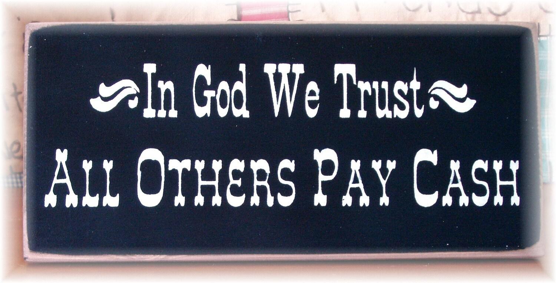 establishing trust in gods plan
