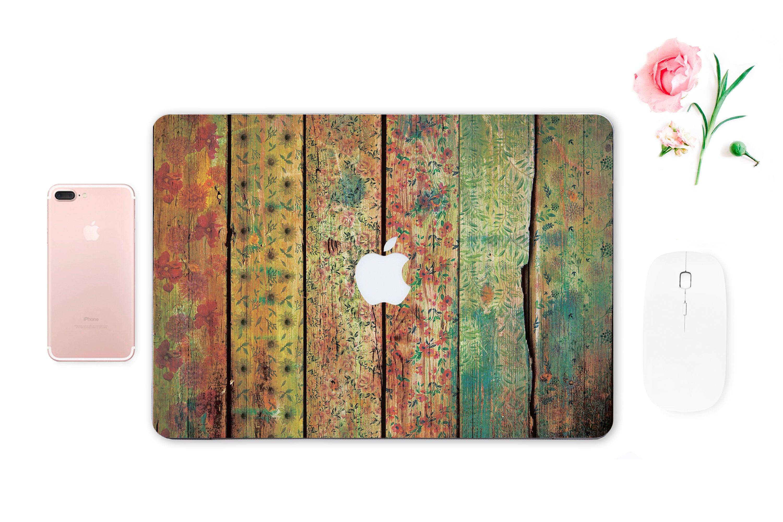 Macbook Pro Skin Wood Macbook Pro Sticker Macbook Air Skin Macbook Pro 13 Retina Skin Macbook Decals Mac Decals Keyboard Stickers ESD018
